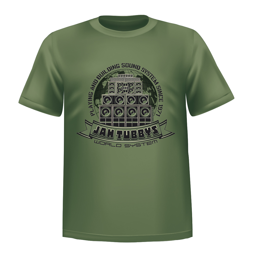 Ital tees bass culture and sound system clothing - Jah Tubbys T Shirt 15 00